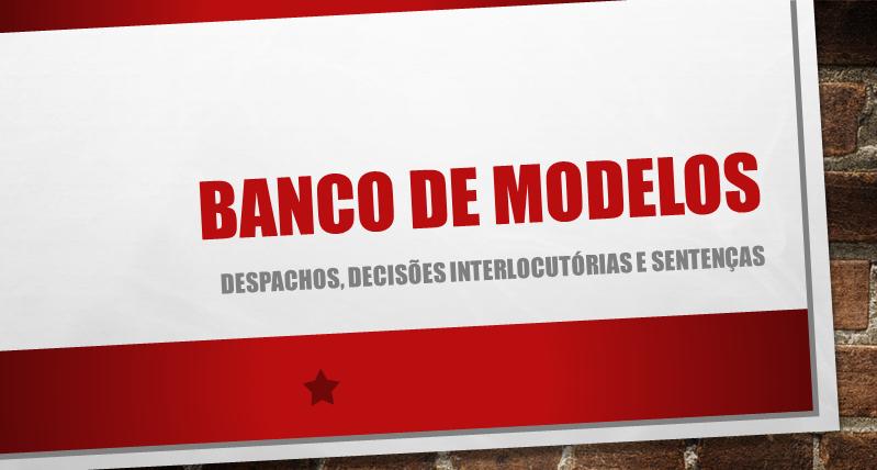 BANCO DE MODELOS