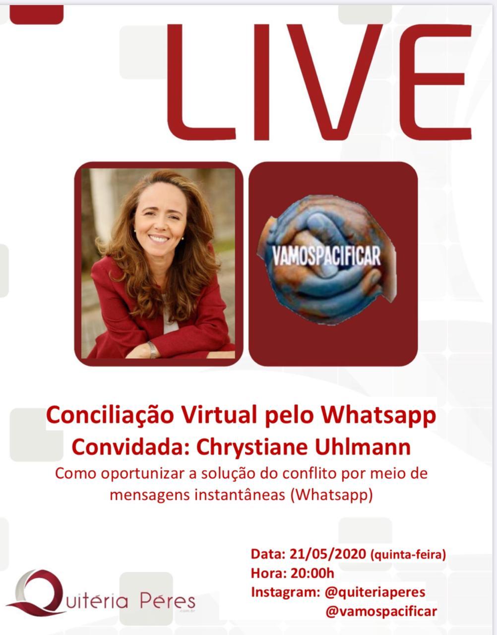 Live - Conciliação Virtual via Whatsapp